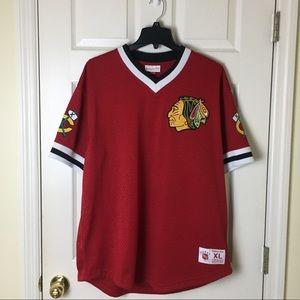 Black Hawks jersey